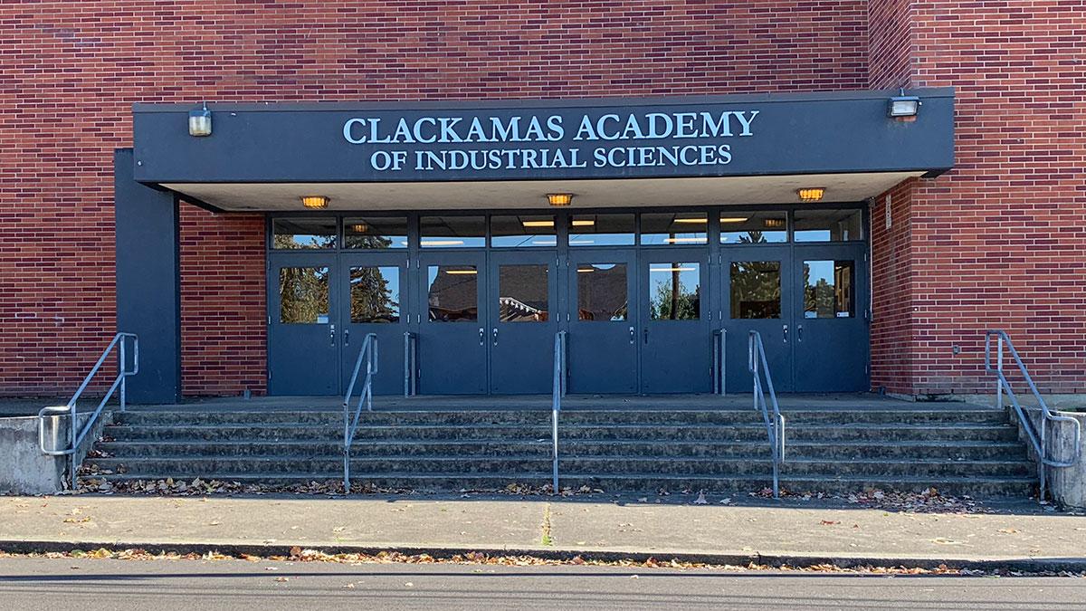 Clackamas Academy of Industrial Science (CAIS) Entrance